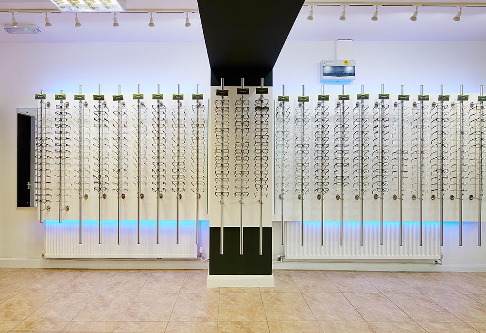 Valli Opticians Renovation Huddersfield